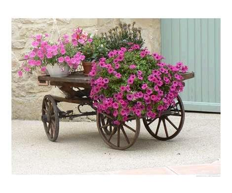 M s de 1000 ideas sobre carretilla de flores en pinterest for Carretillas para jardin