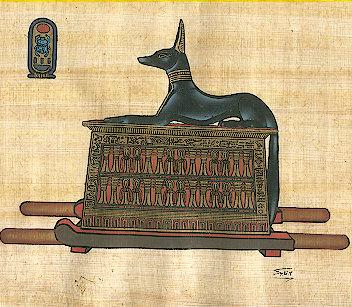 Perros en el Antiguo Egipto.
