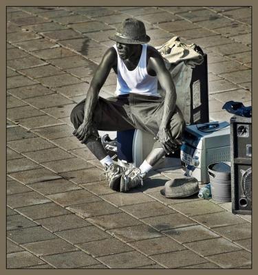 Un artista del hambre.