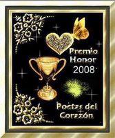 Premio honor 2008.