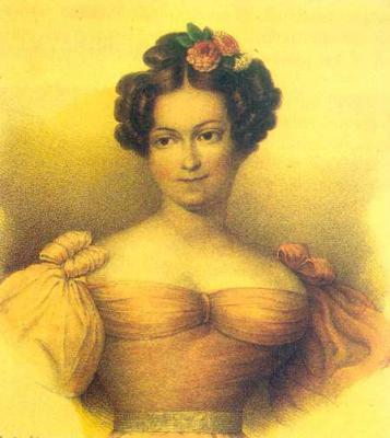 María Cristina de Borbón.